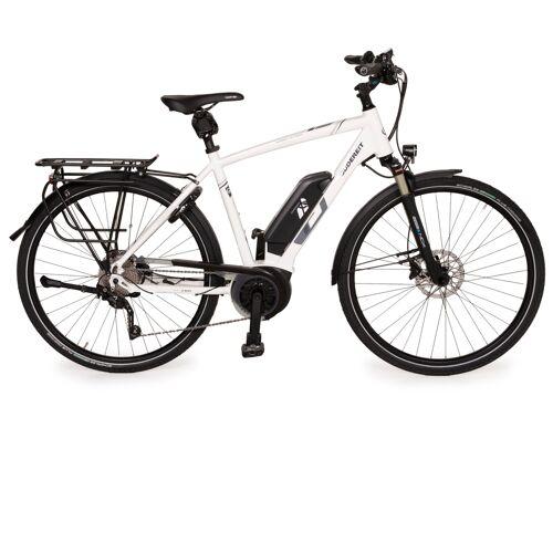 Gudereit ET-7 EVO 2020 Aluminium Fahrrad Weiß E-Trekking Bike