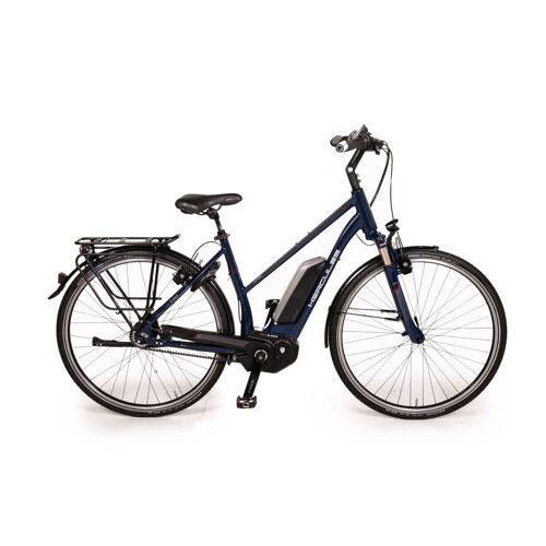 "Hercules FUTURA R8 GATES 500 2016 E-City Bike RH 50cm 28"" Blau Fahrrad"