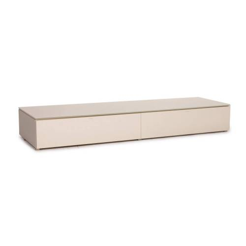 Molteni Pass Holz Lowboard Creme Sideboard Tv Board