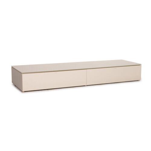 Molteni Pass Holz Lowboard Creme Sideboard Tv Board