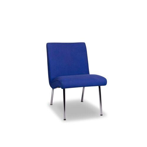 Walter Knoll Vostra Stoff Sessel Blau Stuhl #9975