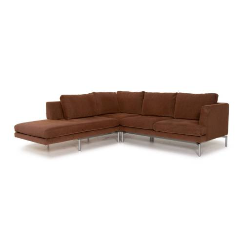 Walter Knoll Good Times Stoff Ecksofa Braun Funktion Couch