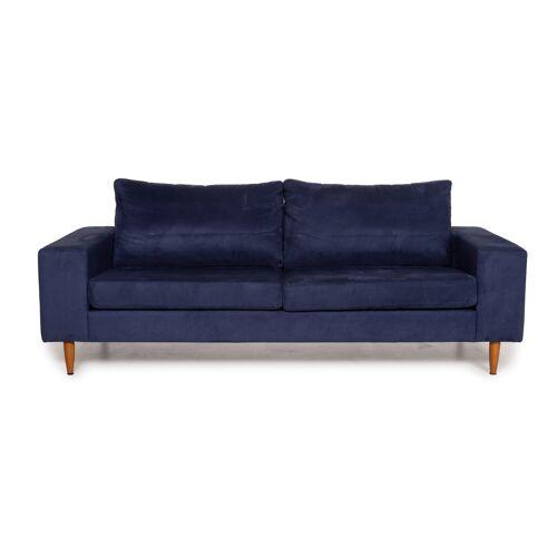 BoConcept Indivi 2 Stoff Sofa Blau Dreisitzer