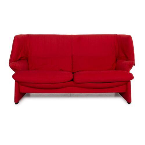 Cassina Maralunga Stoff Sofa Rot Zweisitzer