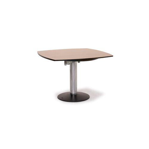 Draenert Titan III Holz Tisch Braun Esstisch Holz Metall Funktion #14639