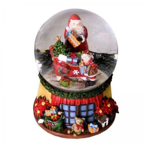+ Schneekugel Weihnachtsmann