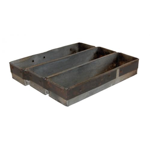 + Antike Kuchenform aus Eisen 30 cm