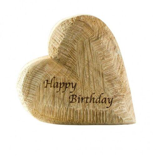 """WMG Holzherz """"Happy Birthday"""""""