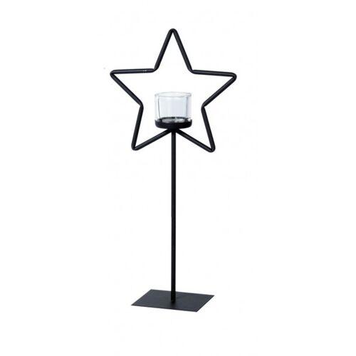 WMG Eisen Windlicht Stern 50 cm