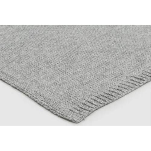 Carma Strickplaid Prato Grau