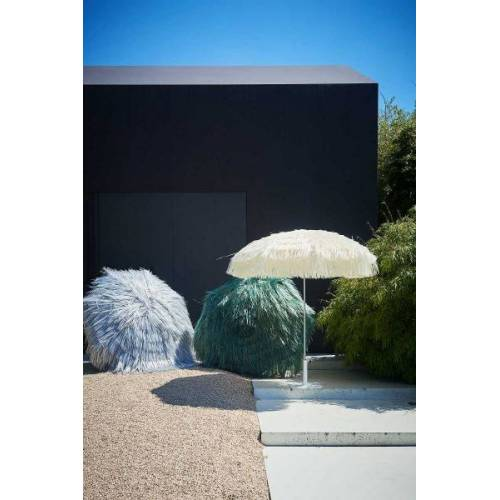 Jan Kurtz Hawaii - Sonnenschirm mit Fransen grün
