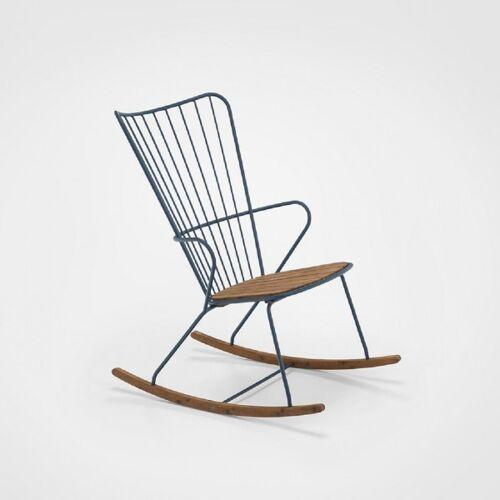 HOUE Outdoor Schaukelstuhl PAON - Outdoor Rocking Chair midnight blue