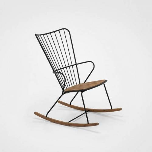 HOUE Outdoor Schaukelstuhl PAON - Outdoor Rocking Chair black