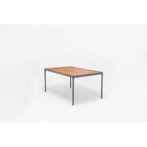 HOUE Outdoor Esstisch Four L: 160 cm - graues Tischbein - Click