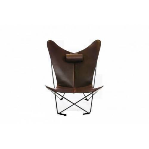 Ox Denmarq KS Chair Stahl, schwarz pulverbeschichtet Mokka