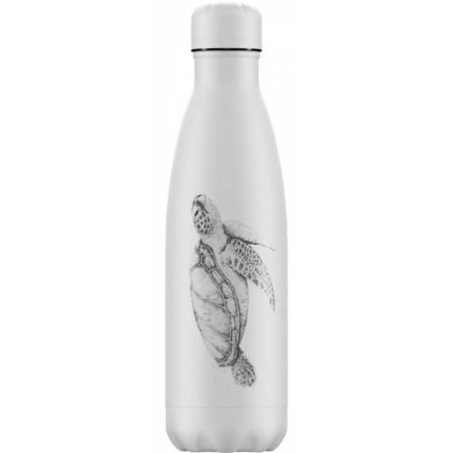 Chilly Bottle Thermosflasche Muster Sea Life Schildkröte 500ml