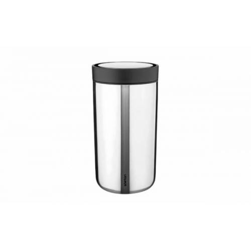 Stelton To Go Click Becher, 0,2 l stahl
