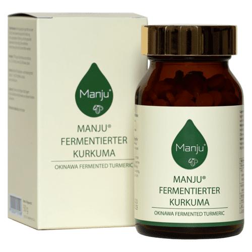 Manju Fermentierter Kurkuma 250 Tabletten