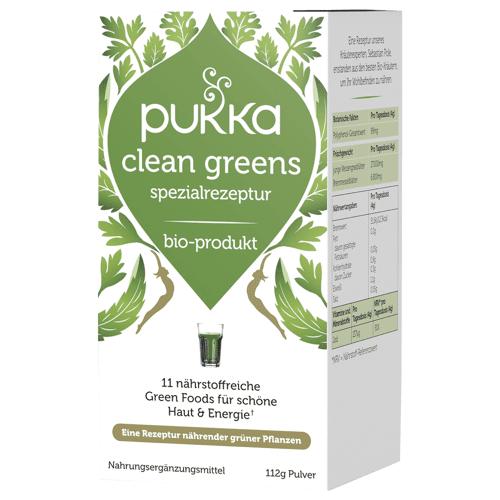 Pukka Bio Clean Greens Pulver