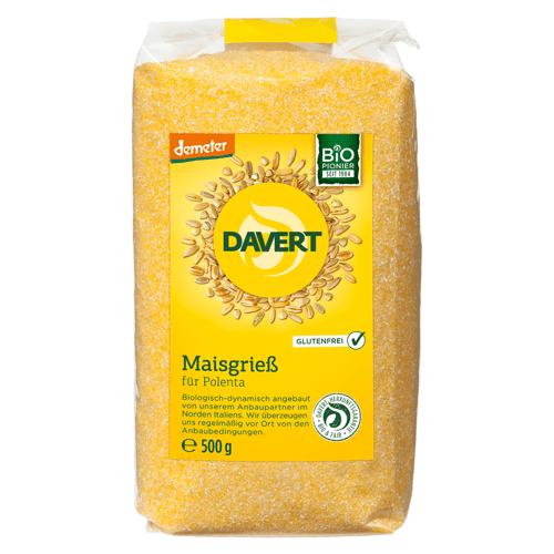 Davert Bio Maisgrieß Polenta