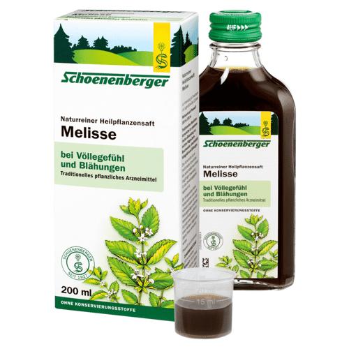Schoenenberger Bio Melisse Heilpflanzensaft