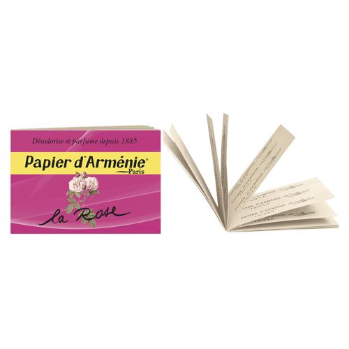 Papier d'Armenie Armenisches Rosenpapier