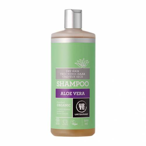 Urtekram Aloe Vera Shampoo für trockenes Haar, 500ml