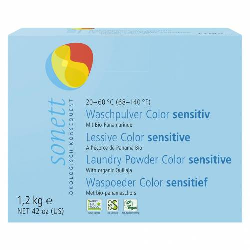 Sonett Waschpulver Color sensitiv, 1,2 kg