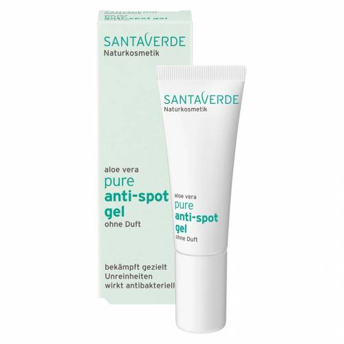 Santaverde Naturkosmetik Aloe Vera Pure Anti-Spot Gel, 10ml