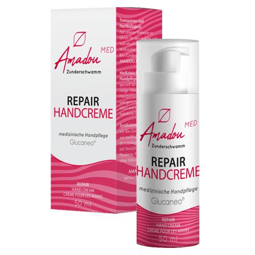 Amadou Zunderschwamm Amadou Repair Handcreme 50ml