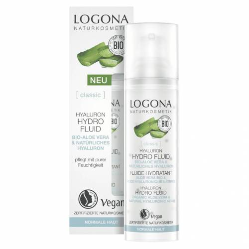 Logona Hyaluron Hydro Fluid Bio Aloe Vera