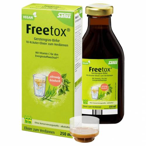 Salus Bio Freetox Gerstengras-Birke, 250ml