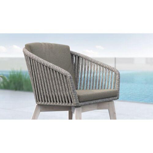 Gartella Designer Gartenstuhl KANADA Rope Outdoor Stuhl
