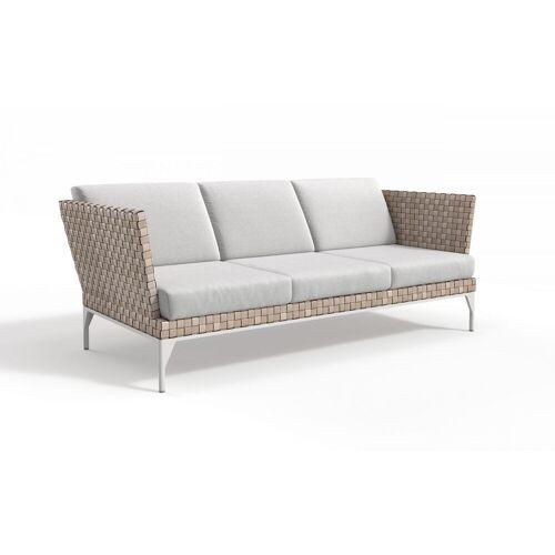 Gartella 3-Sitzer MALEDIVEN Outdoor Couch Stoff Loungesofa