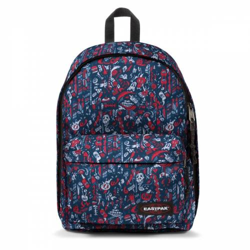 Eastpak out of office-Scribble Red