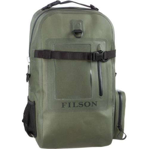Filson Rucksack / Daypack Backpack Dry Bag Green (28 Liter)