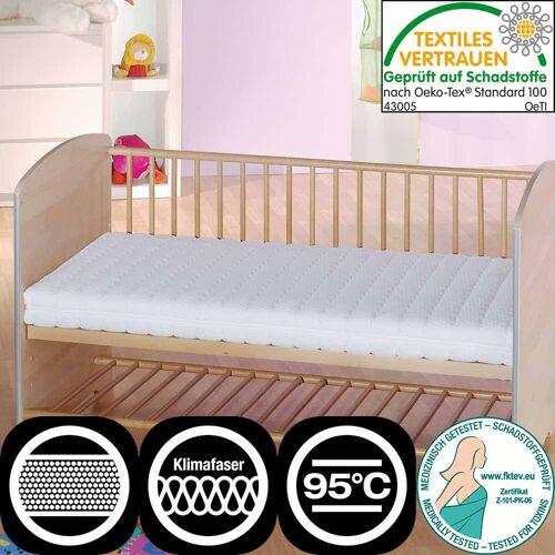 Pharao24.de Matratze für Babybett Bezug waschbar