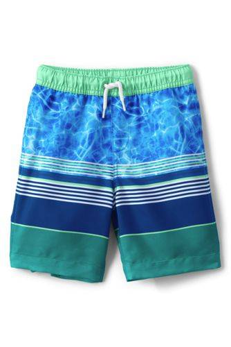 lands end Badeshorts, Größe: 134-152, Blau, Polyester, by Lands' End