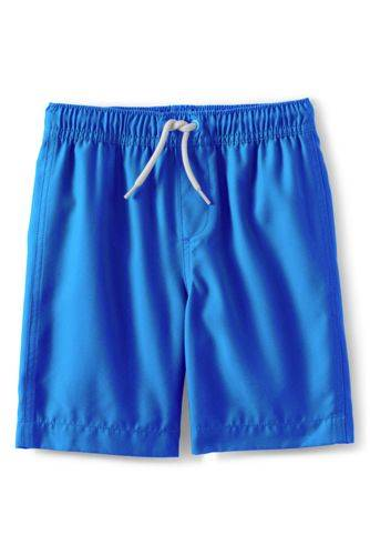 lands end Badeshorts, Größe: 152-164, Blau, Polyester, by Lands' End
