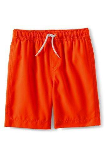 lands end Badeshorts, Größe: 152-164, Orange, Polyester, by Lands' End