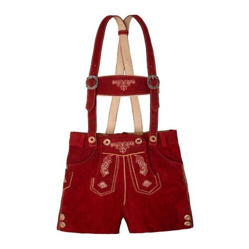 Moser Kinder Lederhose rot Maria 140944