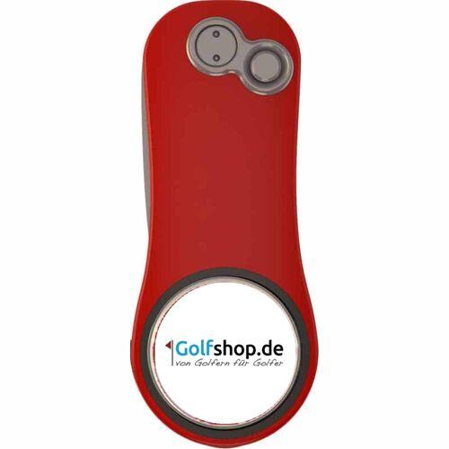 """Pitchfix Hybrid 2.0 Pitchgabel mit """"Golfshop.de"""" Logo"""