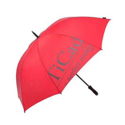 TiCad Regenschirm mit TiCad-Logo