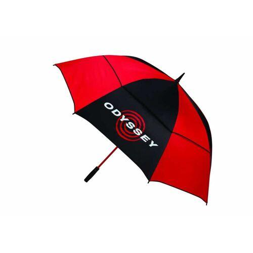 """Callaway Odyssey 68"""" Regenschirm schwarz/rot"""