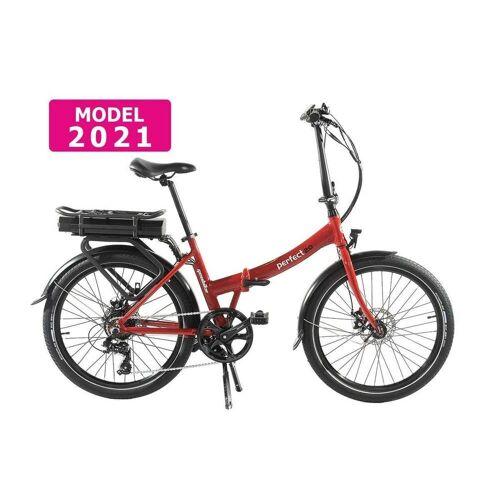 Geobike Smart Klapp E bike Damen Perfect 2.0 Rot 468Wh