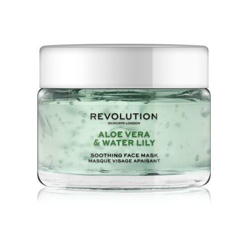 Revolution Skincare Aloe Vera & Water Lily beruhigende Hautmaske 50 ml