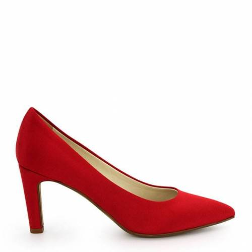 NOAH  Italian Vegan Shoes Veganer Pumps Gloria, Farbe: Rot, Schuhgröße: 35