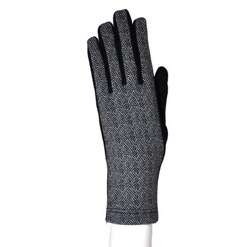 NOAH  Italian Vegan Shoes Vegane Handschuhe für sie Manuela Zig-Nero