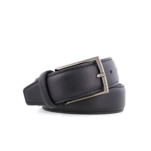 NOAH  Italian Vegan Shoes Veganer Gürtel Cinta black 35 matt, Länge: 110