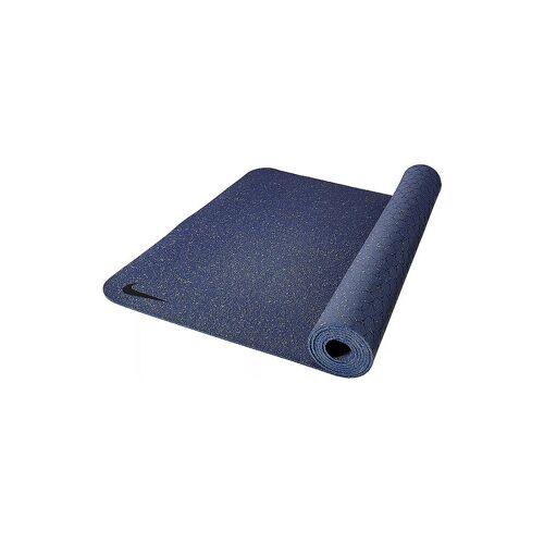 NIKE Yogamatte Flow 4mm blau   9343/18